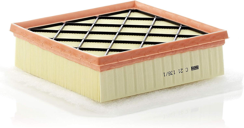 Original Mann Filter Luftfilter C 21 136 1 Für Pkw Auto