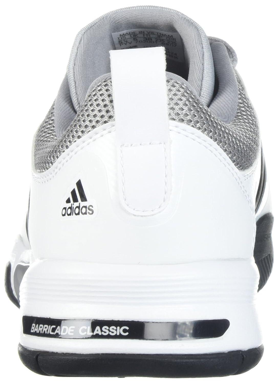 best website 14ccf a6d12 Amazon.com | adidas Barricade Classic Wide 4E Tennis Shoe | Tennis &  Racquet Sports