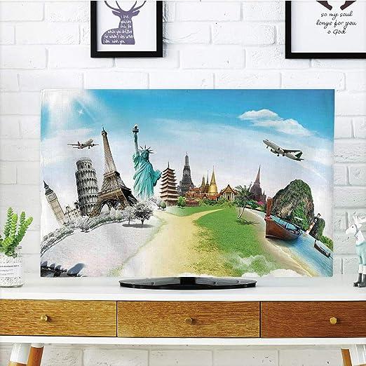 iprint - Funda para televisor LCD, decoración de Viaje, Cama Solar ...