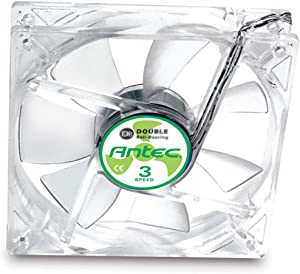 Antec TriCool 80mm DBB Cooling Fan with 3-Speed Switch