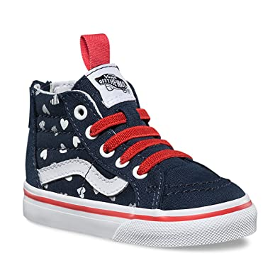 girls red vans shoes