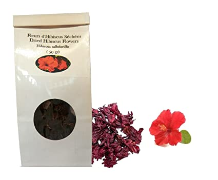 Organic Hibiscus Flowers Whole Dried 25gr Amazonca Home Kitchen