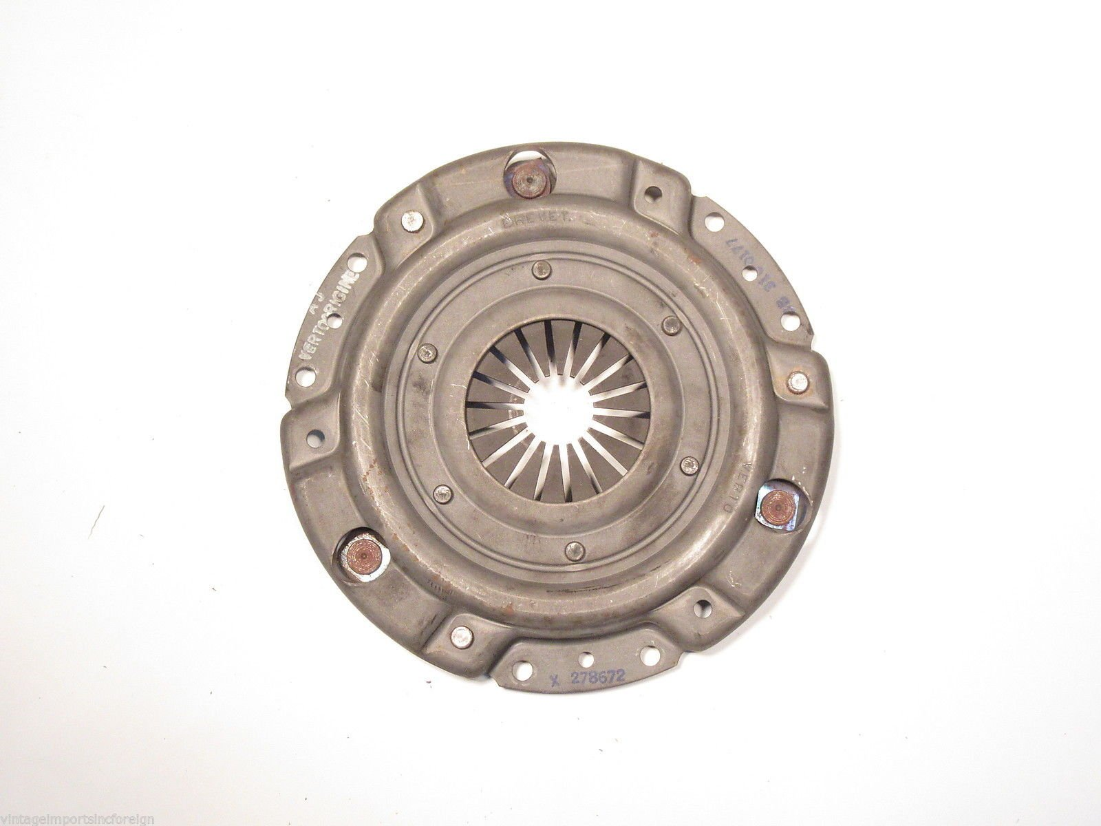 EPC Renault R10 1300cc New Verto Brand 170mm Clutch Cover 78672