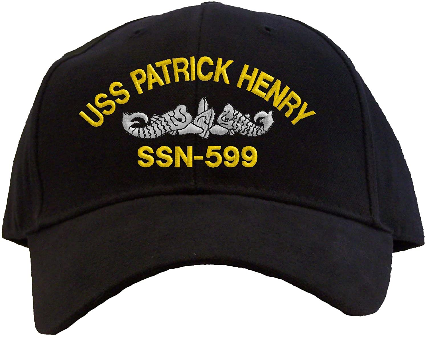 Spiffy Custom Gifts USS Patrick Henry SSN-599 Embroidered Pro Sport Baseball Cap
