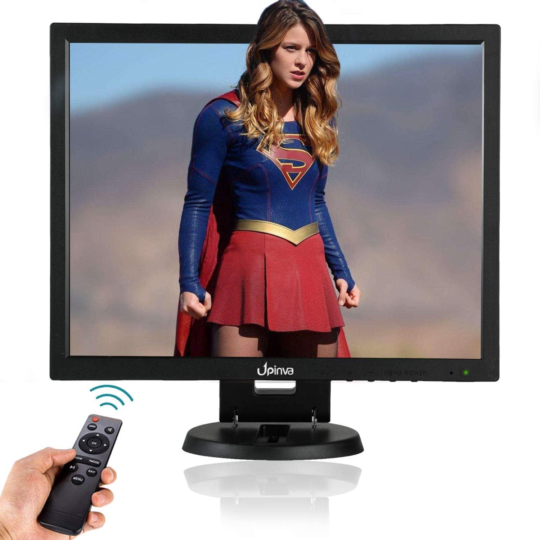 Monitor móvil de 14 pulgadas 1024x768 IPS Full HD LCD pantalla de seguridad cámara oficina PC monitor 4:3 TFT panel multifunción con HDMI AV VGA BNC USB cámara de vigilancia de entrada: