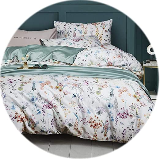 Hotel Collection Ethereal Pima Cotton Full//Queen Duvet Cover Teal Blue