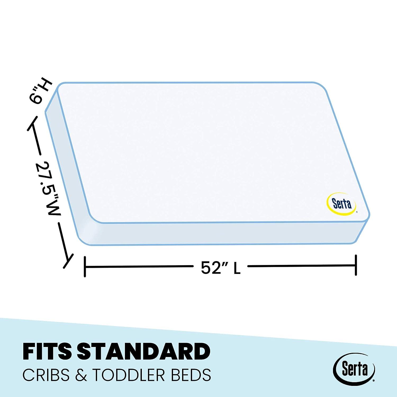 Serta Perfect Start Supreme Fiber Core Memory Foam Crib