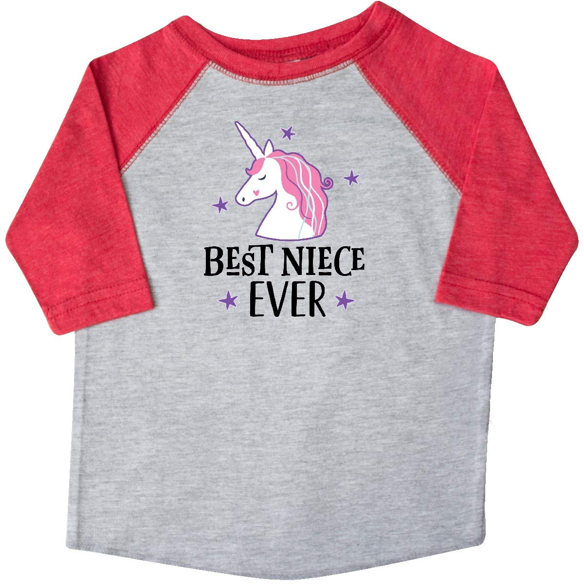 inktastic Best Niece Ever Unicorn from Aunt Toddler T-Shirt