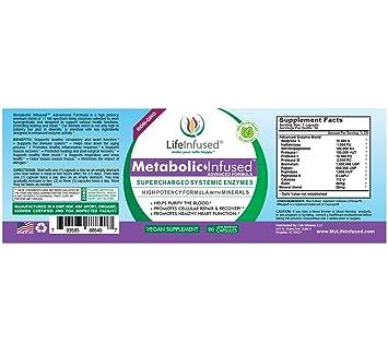 Amazon.com: Impregnado de vida – infusión metabólica ...