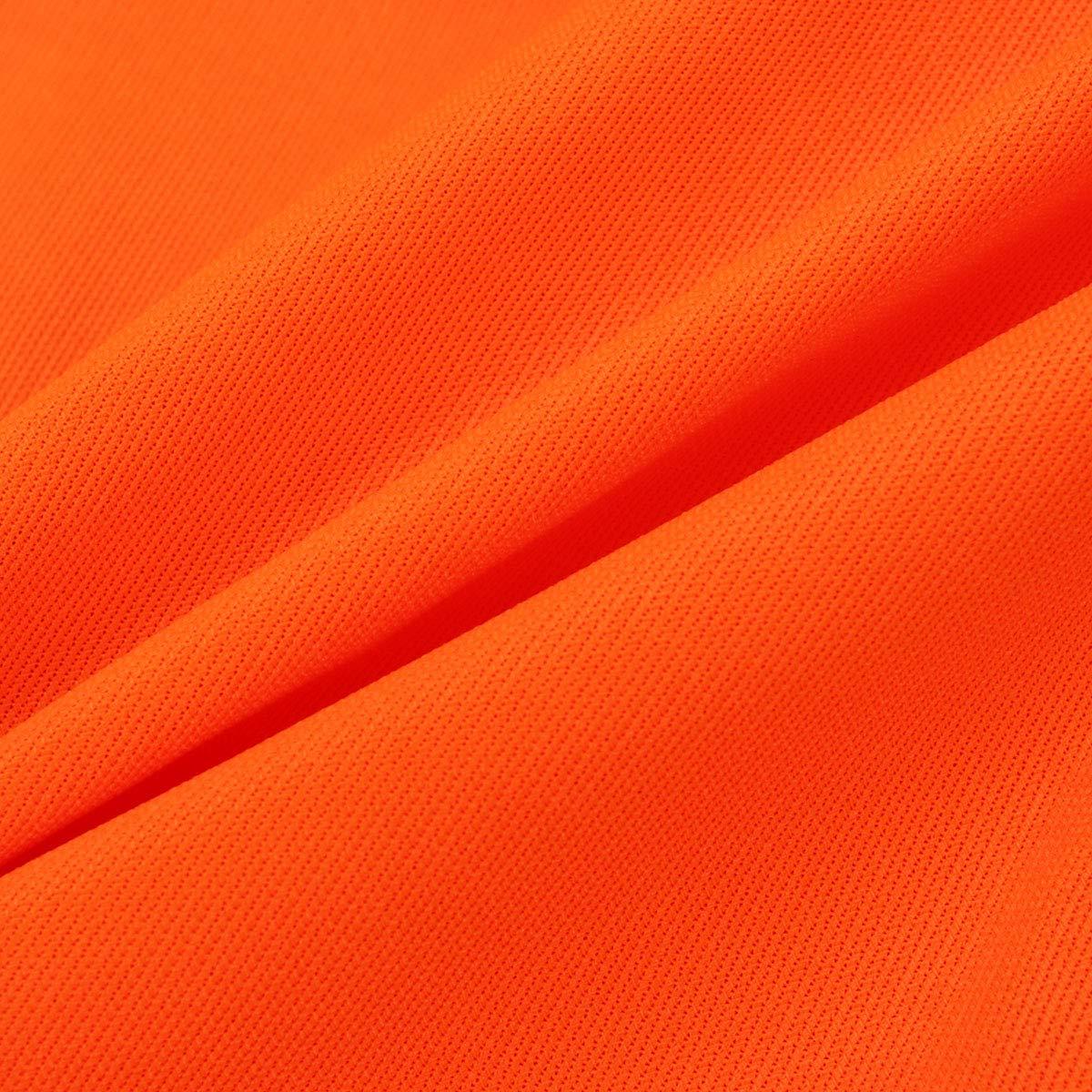 Vosarea Warnweste Kinder Reflektierend Jungen M/ädchen Sport Outdoor Aktivit/äten Bekleidung Orange