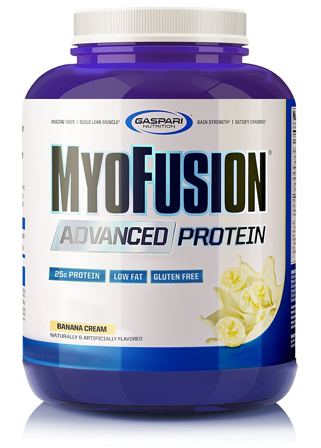 Gaspari Nutrition Myofusion Advanced Protein, Banana, 4 Pound