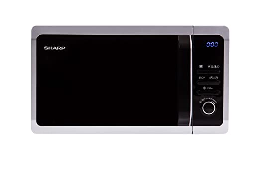 Sharp Home Appliances R-243S Encimera Solo - Microondas ...