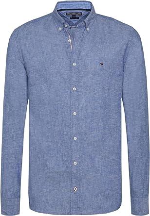 Tommy Hilfiger Camisa Casual - para Hombre: Amazon.es: Ropa y accesorios