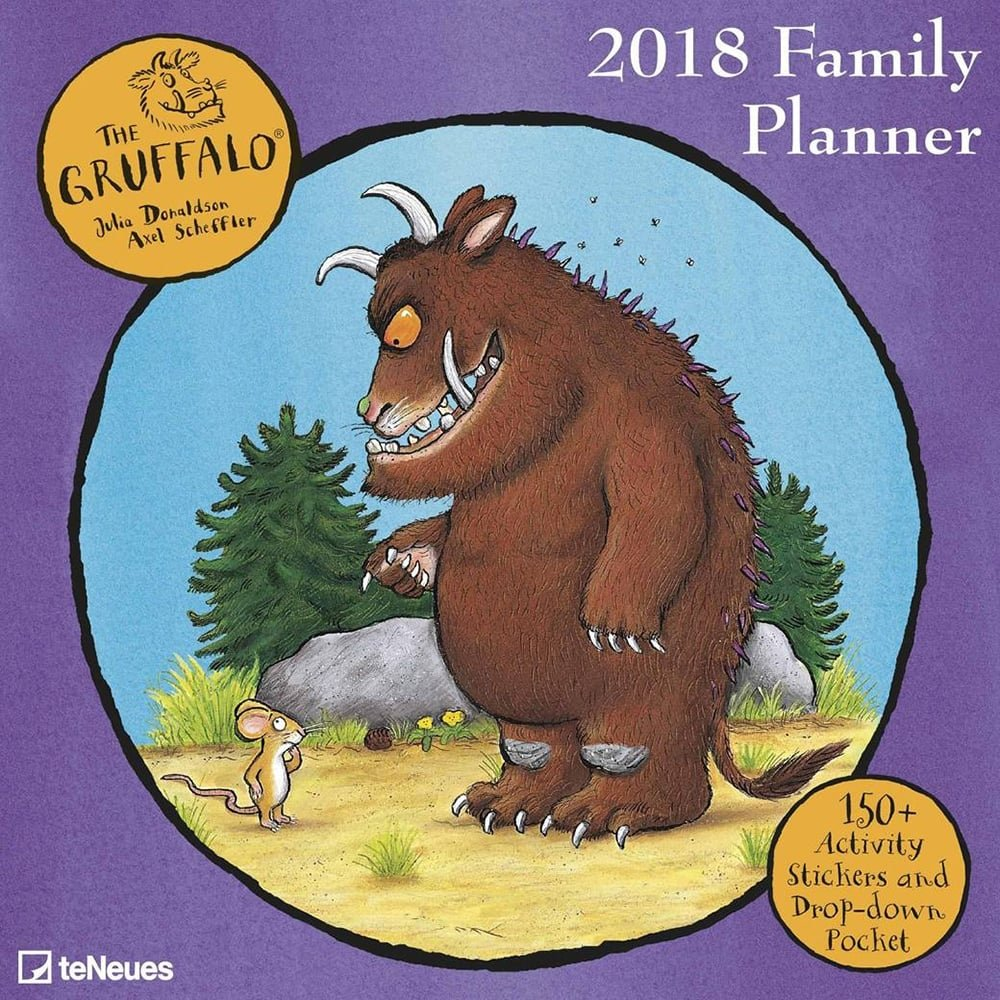 2018 gruffalo family planner teneues grid calendar 30 x 30 cm 2018 gruffalo family planner teneues grid calendar 30 x 30 cm amazon teneues calendars stationery books amipublicfo Image collections