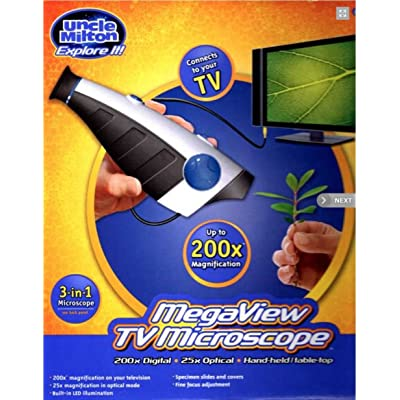 Uncle Milton MegaView TV Microscope: Toys & Games