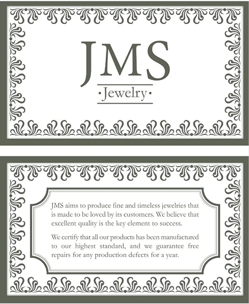 JMS Jewelry 18K Rose Gold Initial C Pave with Diamond Pendant 67