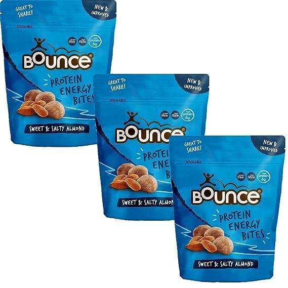 Bounce Bocados Dulce y Salado Sin Gluten Organico 90g Pack de 3