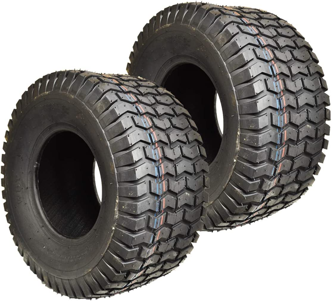 TWO 20X10.00-8 Turf  Master Style Lawn 20X10-8 4 Ply Rated Mower Set of Two Tire