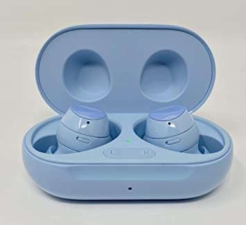 Amazon Com Samsung Galaxy Buds Plus True Wireless Earbuds W Improved Battery And Call Quality Wireless Charging Case Included International Version Cloud Blue