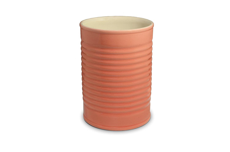 Porta Utensílios Mondoceram Coral 12,5 x 12,5 x 17,5 cm Cerâmica