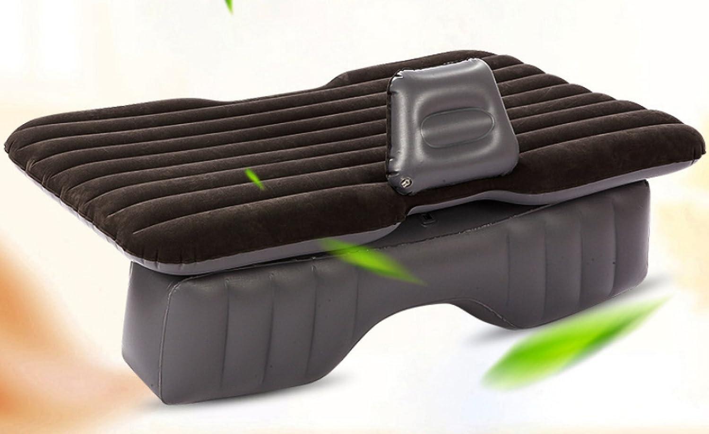 ERHANG Luftmatratzen Luftbetten Betten Luftmatratzen Auto Aufblasbares Bett Reisebett Erwachsene Im Freien Isomatte,DarkGrau