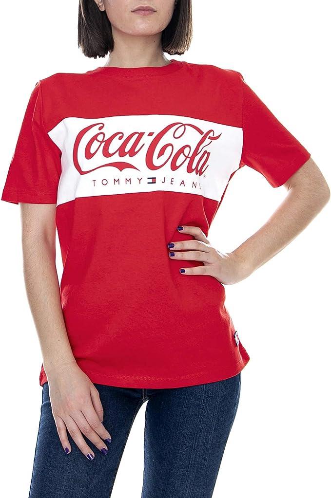 Tommy Hilfiger TJW Tommy X Coca Cola 696 T Shirt Red