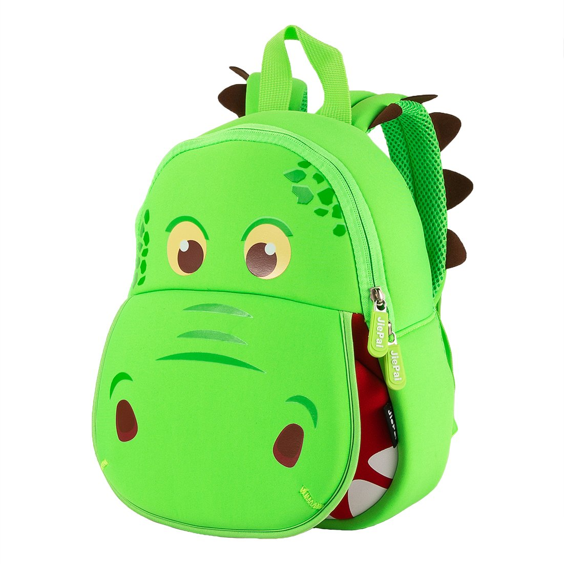 f18a7b04ad1c JiePai Toddler Backpack,Kids Dinosaur Backpack Waterproof 3D Cartoon  Boys/Girls Backpack,Perfect for Preschool, Daycare, and Day Trips,Age ...