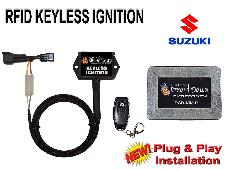 Keyless Ignition for Suzuki-GSXR1300 Hayabusa 2008-2012