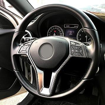Semoic Auto Lenk Rad Rahmen Zierblende Für Mercedes A B C E Cla Cls Gla Glk Class W176 W246 W204 W207 Auto