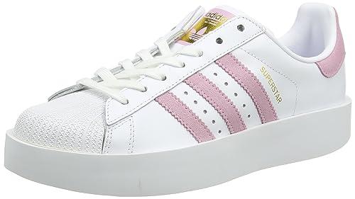 low priced f7dbc e8eee adidas Superstar Bold, Scarpe da Ginnastica Basse Donna, Bianco (Footwear  White Wonder