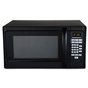 Hamilton Beach P100N30AL 1000 Watts 1.1 cu. ft. Countertop Microwave Oven Black (Certified
