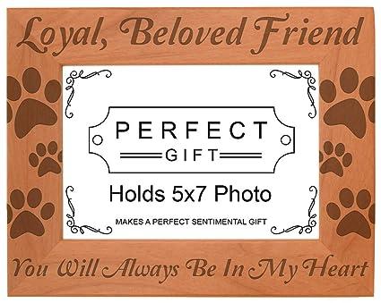 buy pet memorial gift remembrance of dog or cat natural wood