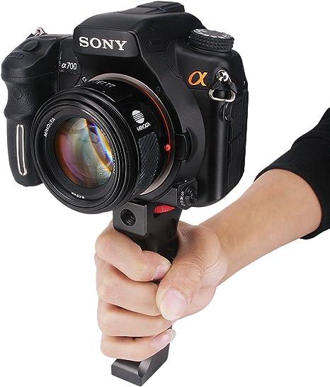 Haoge - Soporte de Agarre para cámara réflex Digital Canon Nikon ...