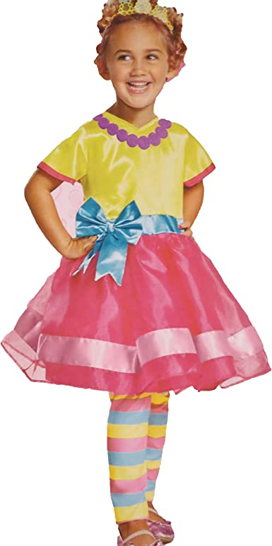 Amazon Com Disney Junior Fancy Nancy Costume Toddler 3t 4t Clothing