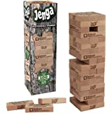 USAOPOLY JENGA National Parks | Classic Jenga Wooden Block Game with a National Parks Theme | Perfect Travel Game for Families | Celebrate US National Parks Service