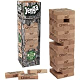 USAOPOLY JENGA National Parks | Classic Jenga Wooden Block Game with a National Parks Theme | Perfect Travel Game for Familie