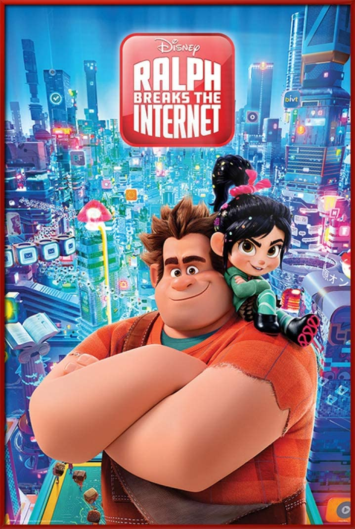 240760 ralph breaks the internet movie wall print poster fr