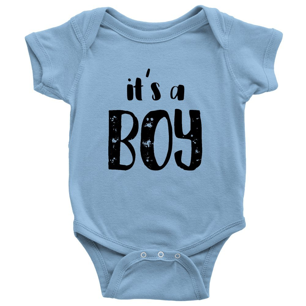 0298521327643 Amazon.com: It's a Boy! Baby Gender Reveal Onesie for Announcement ...