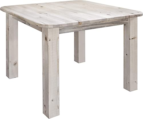 Montana Woodworks Homestead Collection 4-Post Dining Table