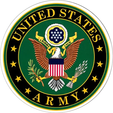 Amazon.com: U.S. Army Seal - Eagle on Green - Emblem Sticker ...
