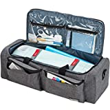 HOMEST Carrying Case Compatible with Cricut Explore Air 2, Cricut Maker, Silhouette CAMEO3, Grey