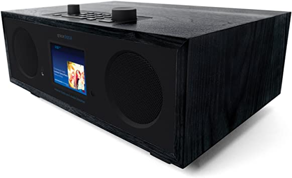 """Bluetooth and 3.5/"""" Color Display Wireless Smart Speaker and Internet Radio with Wi-Fi Grace Digital Mondo"""