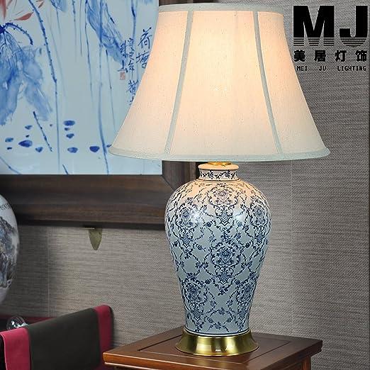 Neo-clásico chino moderno salón grandes lámparas de Cerámica ...