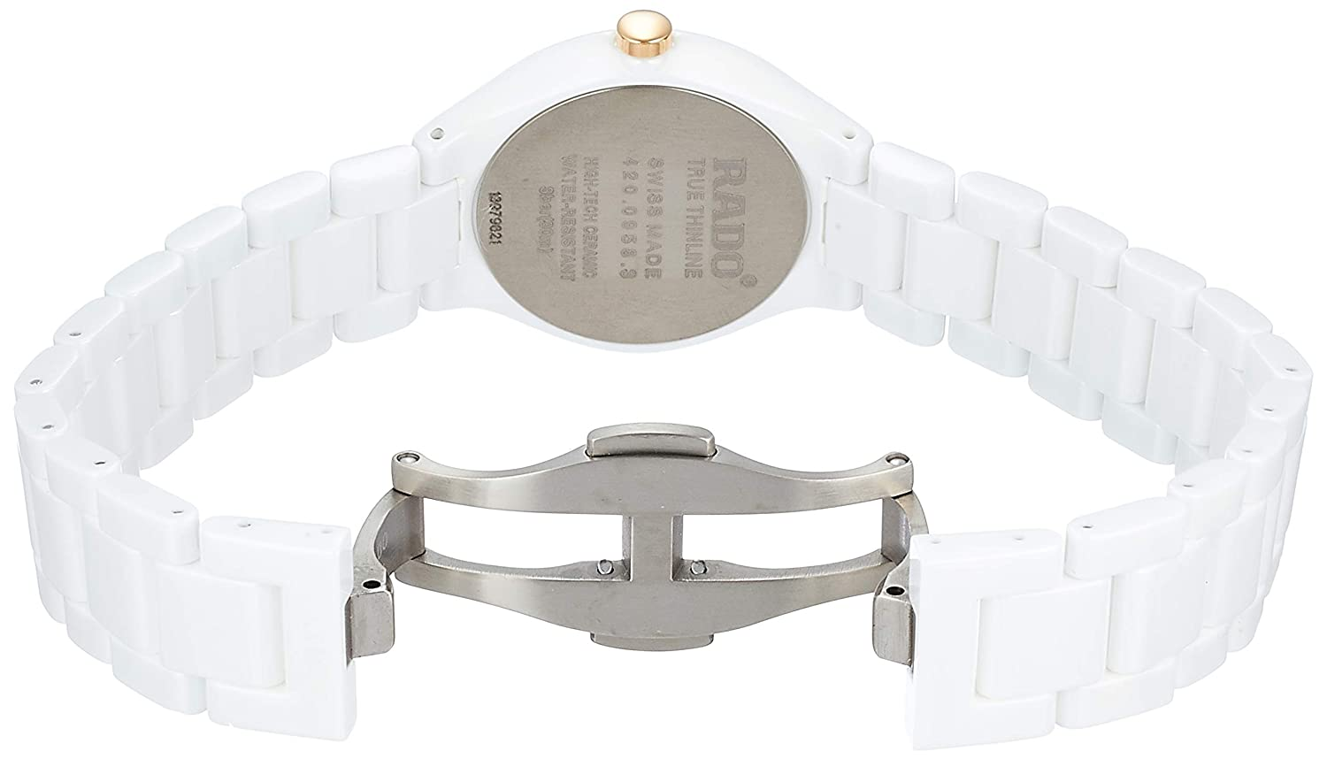 becb1bb3a91 Amazon.com  Rado Rado True Thinline Women s Automatic Watch R27958702  Rado   Watches