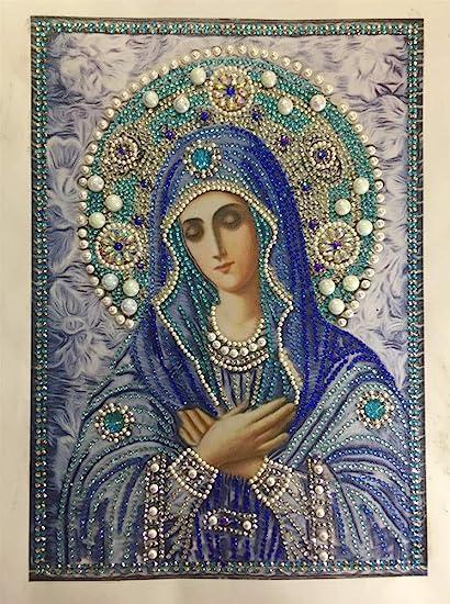 Super Marie 5D Diamond embroidery Diy diamond painting full circular rhinestone paste Crafts Needlework Gift Home decoration Christmas Gifts