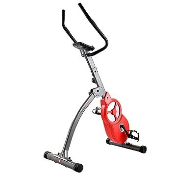 Ultrasport, Gris Oscuro/Rojo Bicicleta estática F-Bike 600 Pro ...