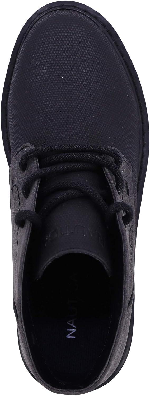 Black Details about  /NAUTICA Little Boys Black  Boots Shoes Size US 5,MSRP $42