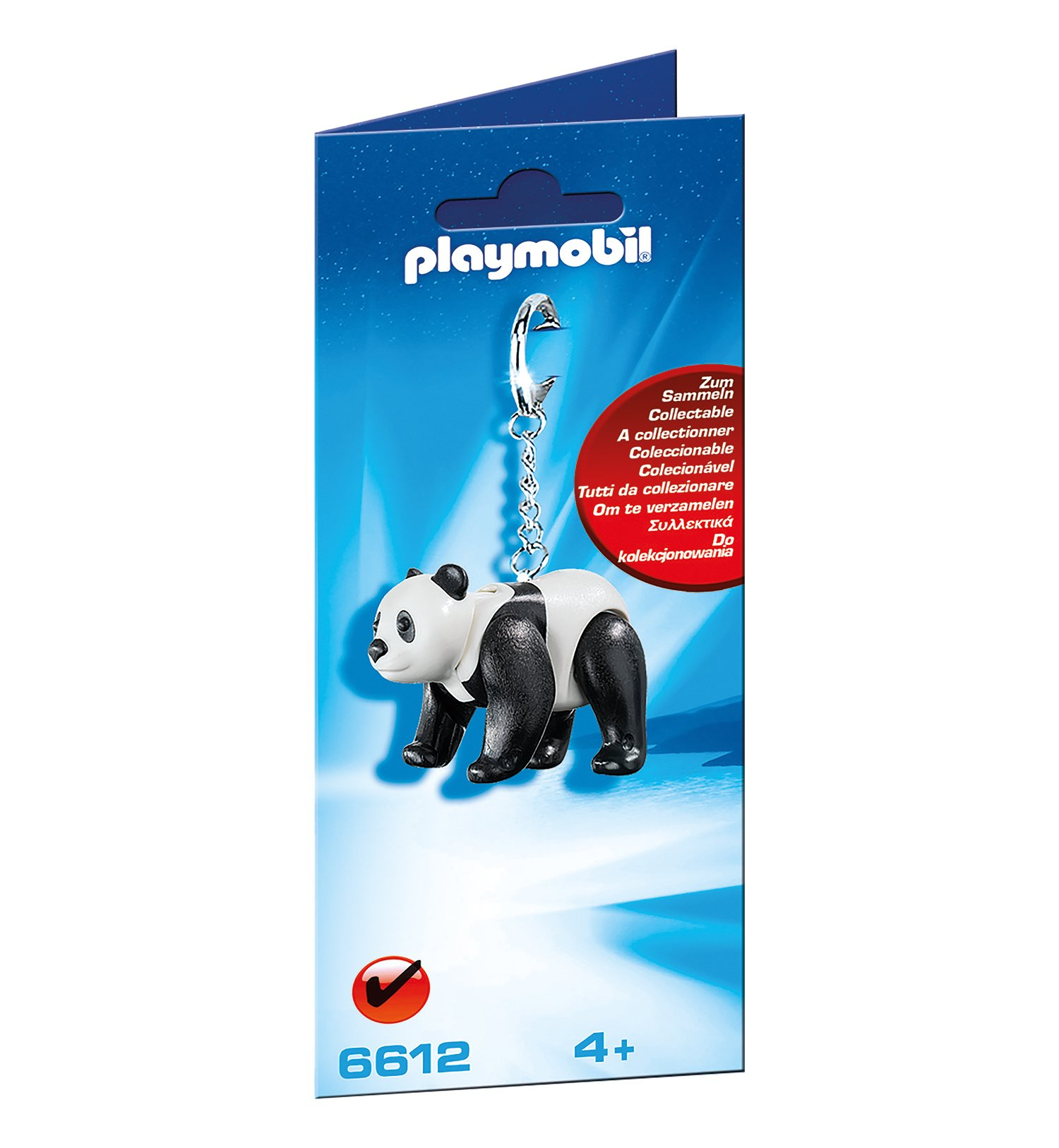 Playmobil 6612 City Life Zoo Panda Keyring