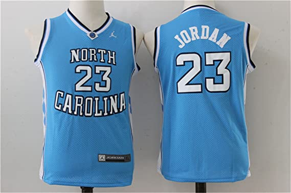 huge selection of 4ec1e 9e61f North Carolina Tar Heels 23 Michael Jordan Blue College ...