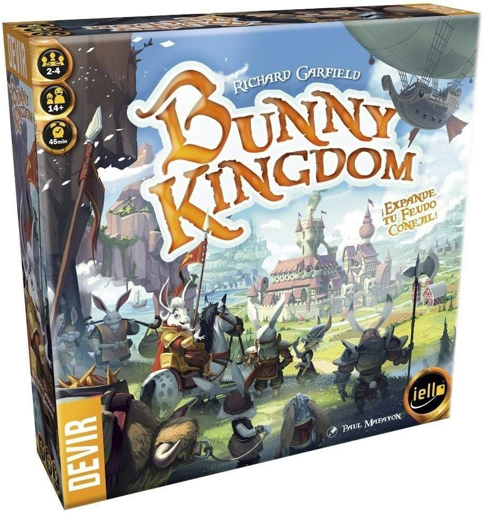 Devir Bunny Kingdom (Ed. En Español), Multicolor (1): Amazon.es ...